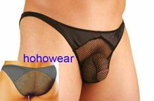 Sexy Men's Stretch Net Brief Underwear