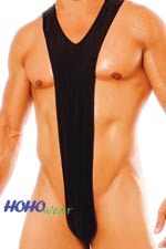 Sexy Mens I-shape Stretchy Bodysuit